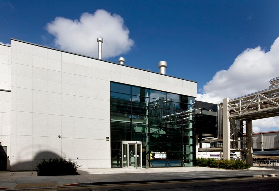 Brewhouse No. 4 at St. James's Gate in Ireland opened last September