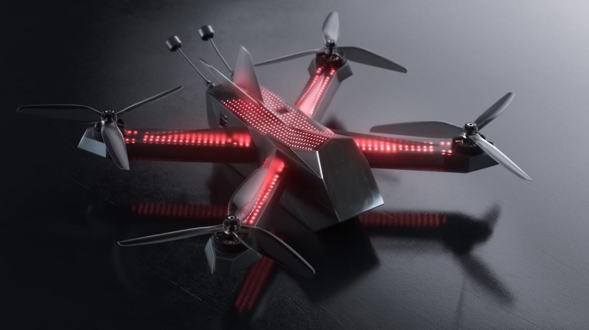 The DRL Racer4 Street drone is raising funds on Kickstarter