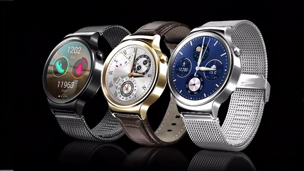 Different styles of the Huawei Watch