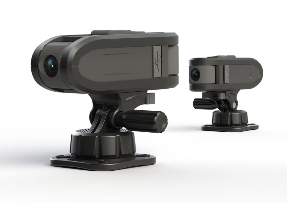 The Oregon Scientific ATC Chameleon is an actioncam that has two lenses, to record two perspectives at once
