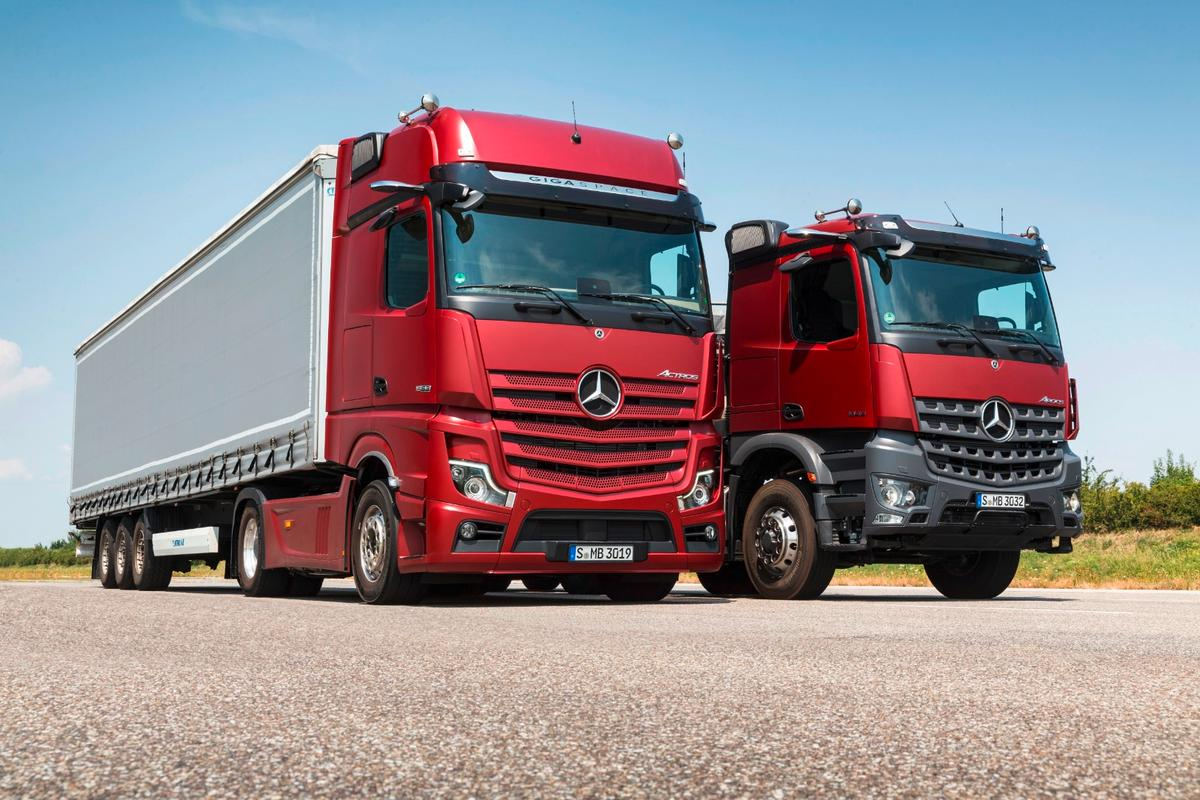 The Mercedes-Benz Actros brings automated trucking a step closer