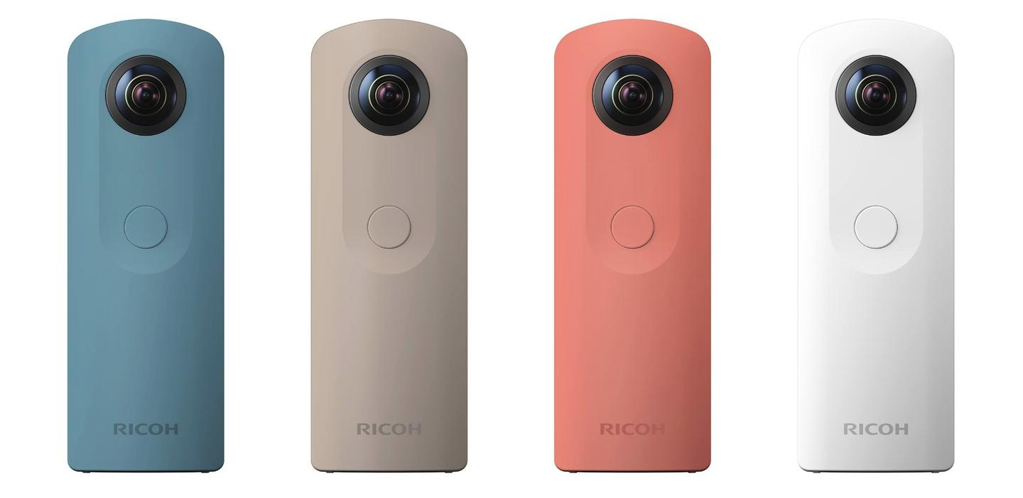 The Theta SC alsocomes in a few playful color options