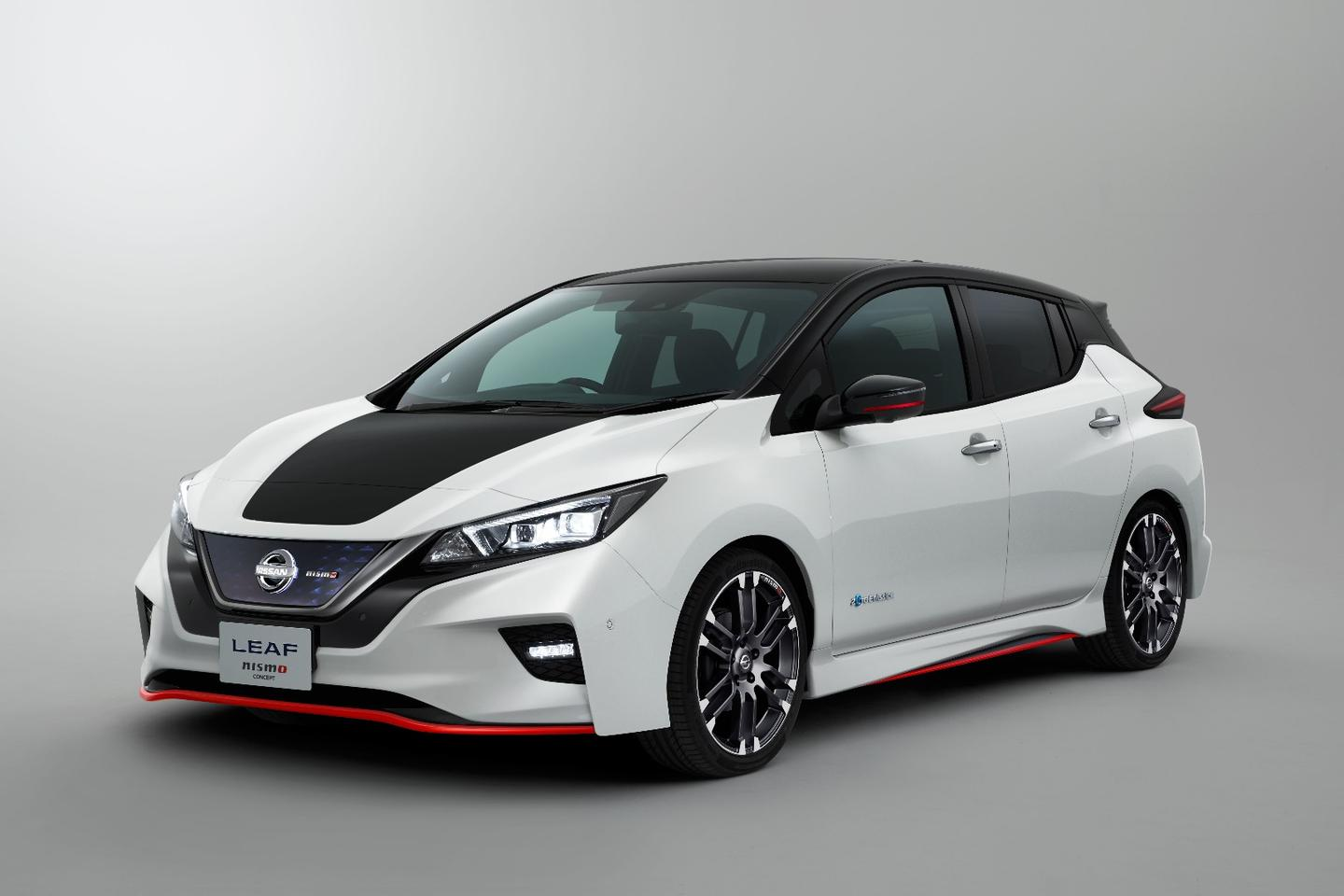 Anumber of external, interior, and internal changes to the Nissan Leaf are showcased on the Nismo Concept to be shown at the upcoming Tokyo Motor Show