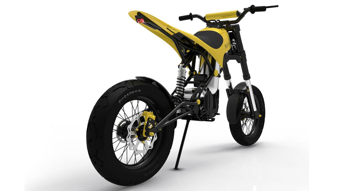 Benstead worked with project partners including Engineair and Yamaha Australia as well as Simon Curlis and Automotive designer Marcus Hotblack at RMIT to create the 02 Pursuit