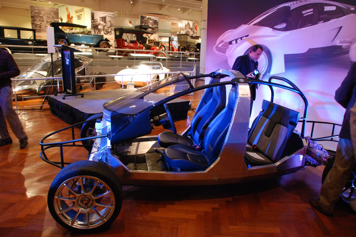 New VLC rolling-chassis on display at The Henry Ford Museum