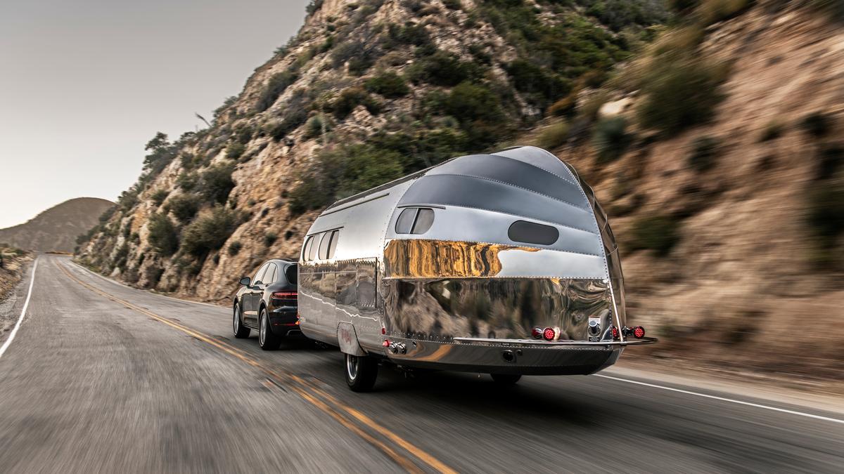 Bowlus trailer invites nautical design onto dry land