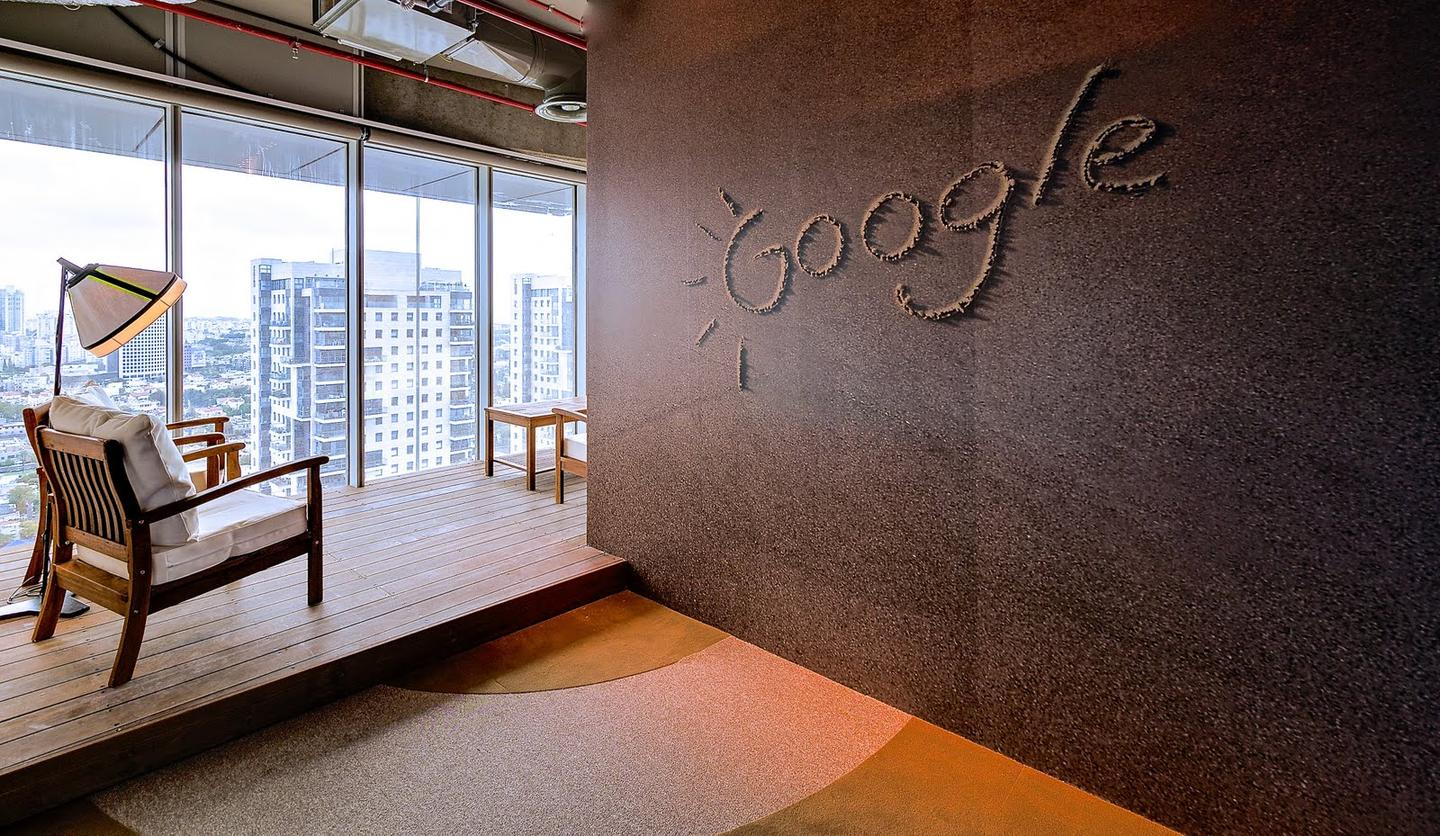 Google opened its new Tel Aviv offices designed by Swiss Design Team Camenzind Evolution, in collaboration with Setter Architects and Studio Yaron Tal (Photo: Itay Sikolski)