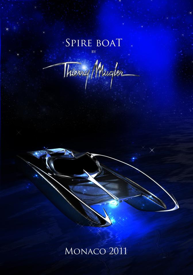 The Thierry Mugler Inspire Powerboat