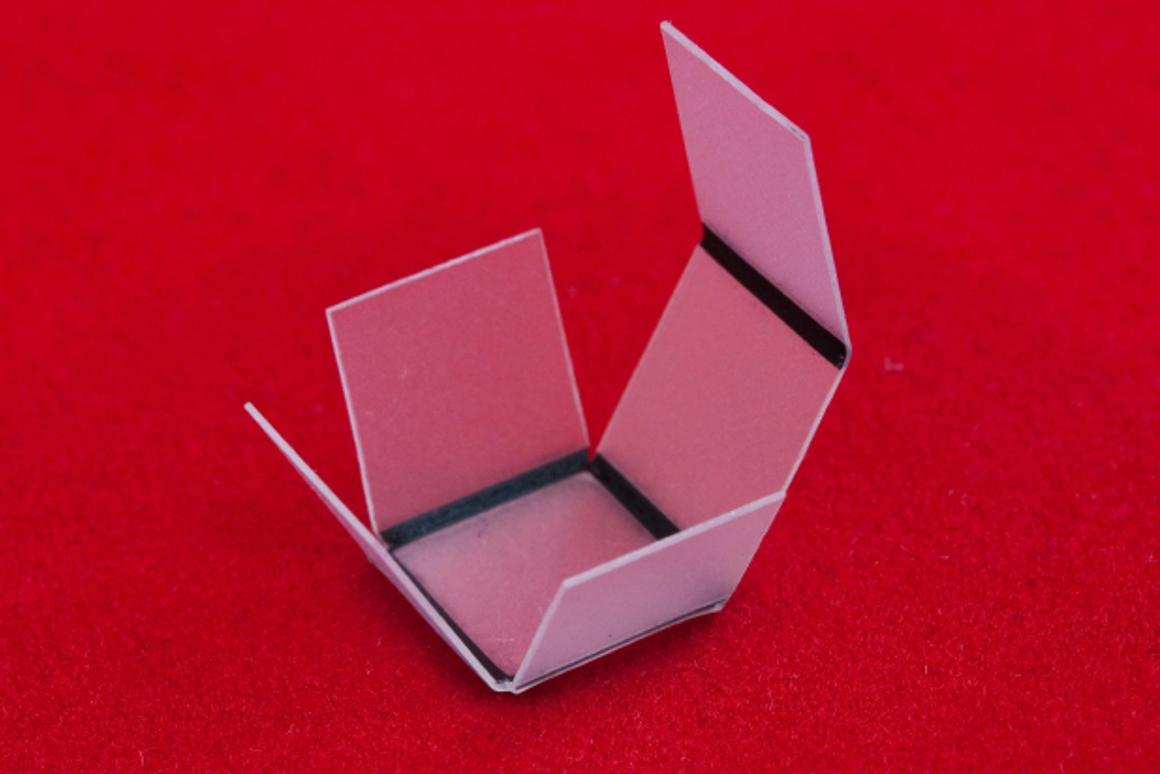 Researchers from North Carolina State University have developed a new technique for transforming two-dimensional print output into 3-D structures, using nothing but light