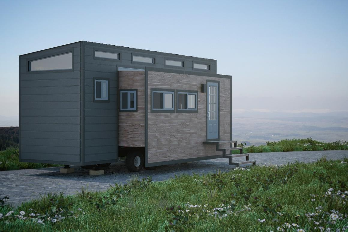 The Aurora tiny house will set you backaround US$75,000, depending on options chosen