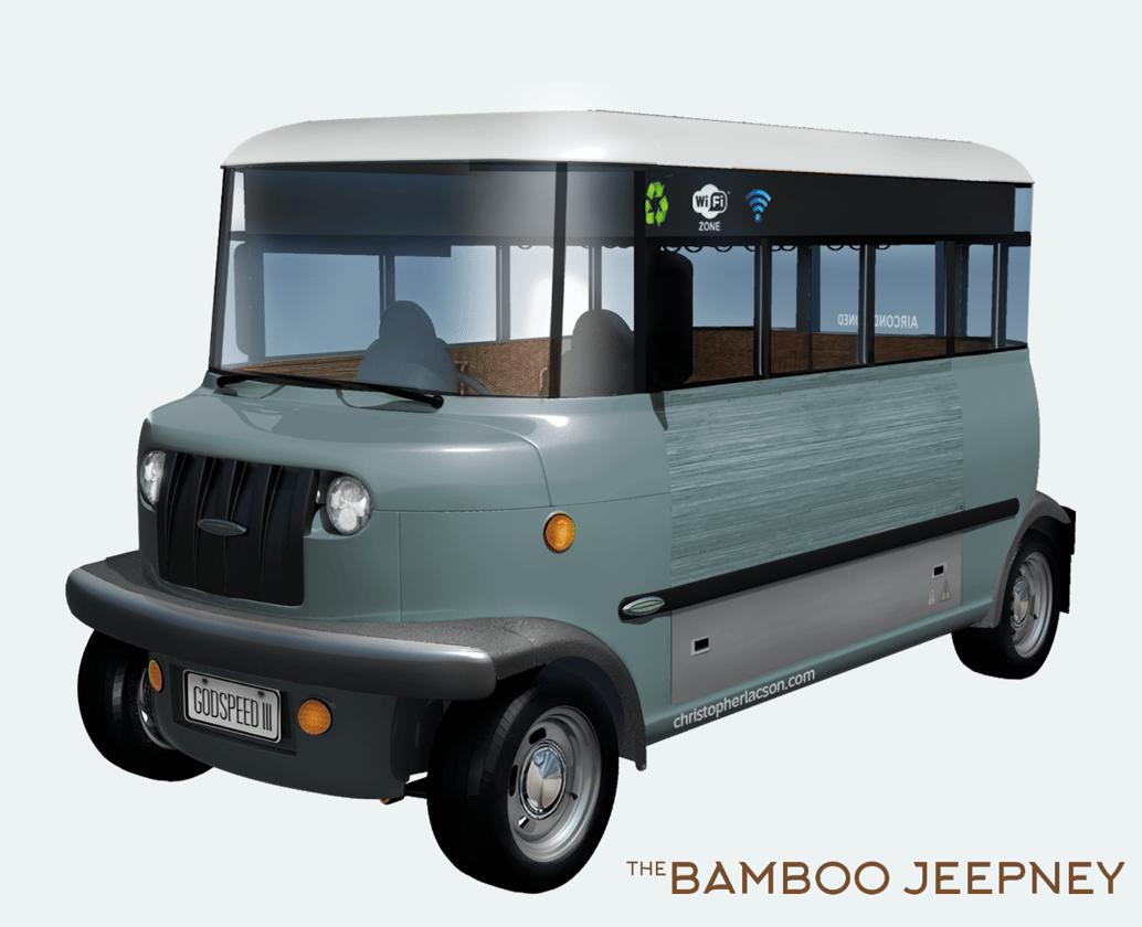 Banatti's bigger dream: a bamboo Jeepney