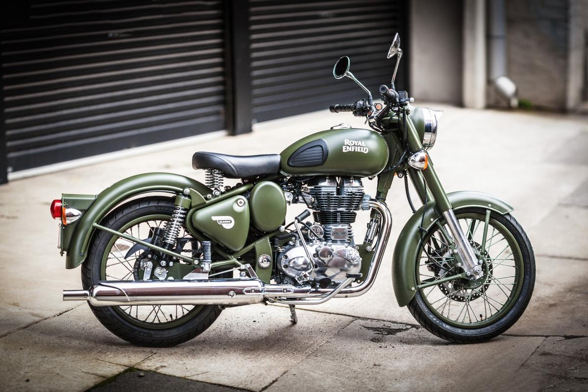 Royal Enfield Classic 500: will find its home in urban areas in the Western world