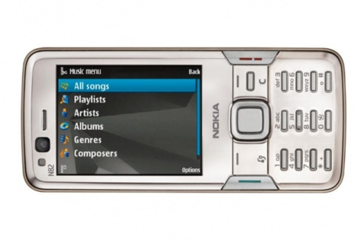 Mobile Phone sales growth continuesPictured: Nokia's N82 (see story 8366)