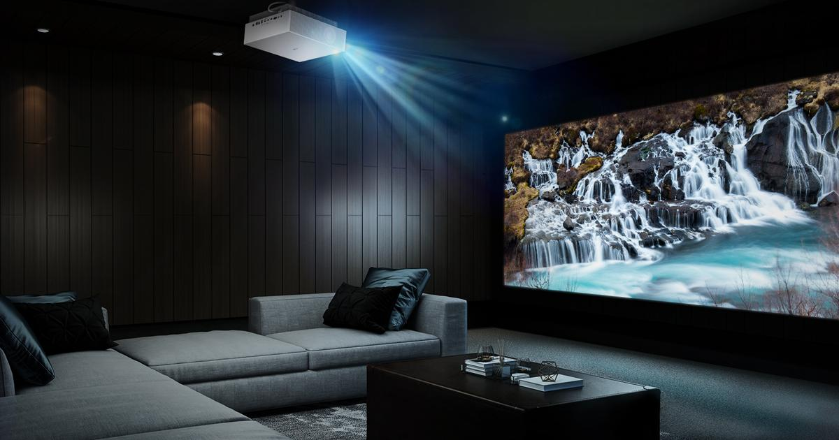 Latest LG projector brings movie theater experience into the living room