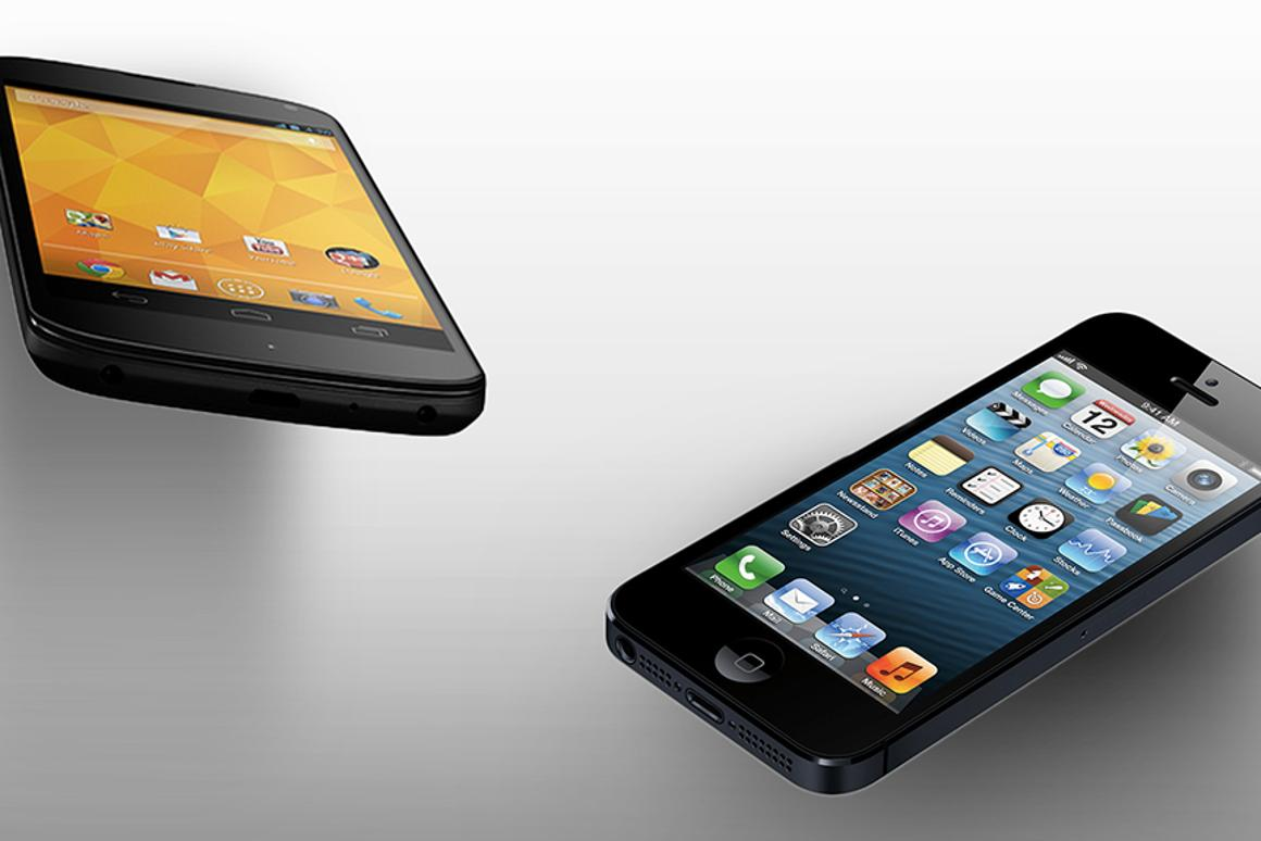How does Google's latest flagship Nexus phone compare to the iPhone 5?