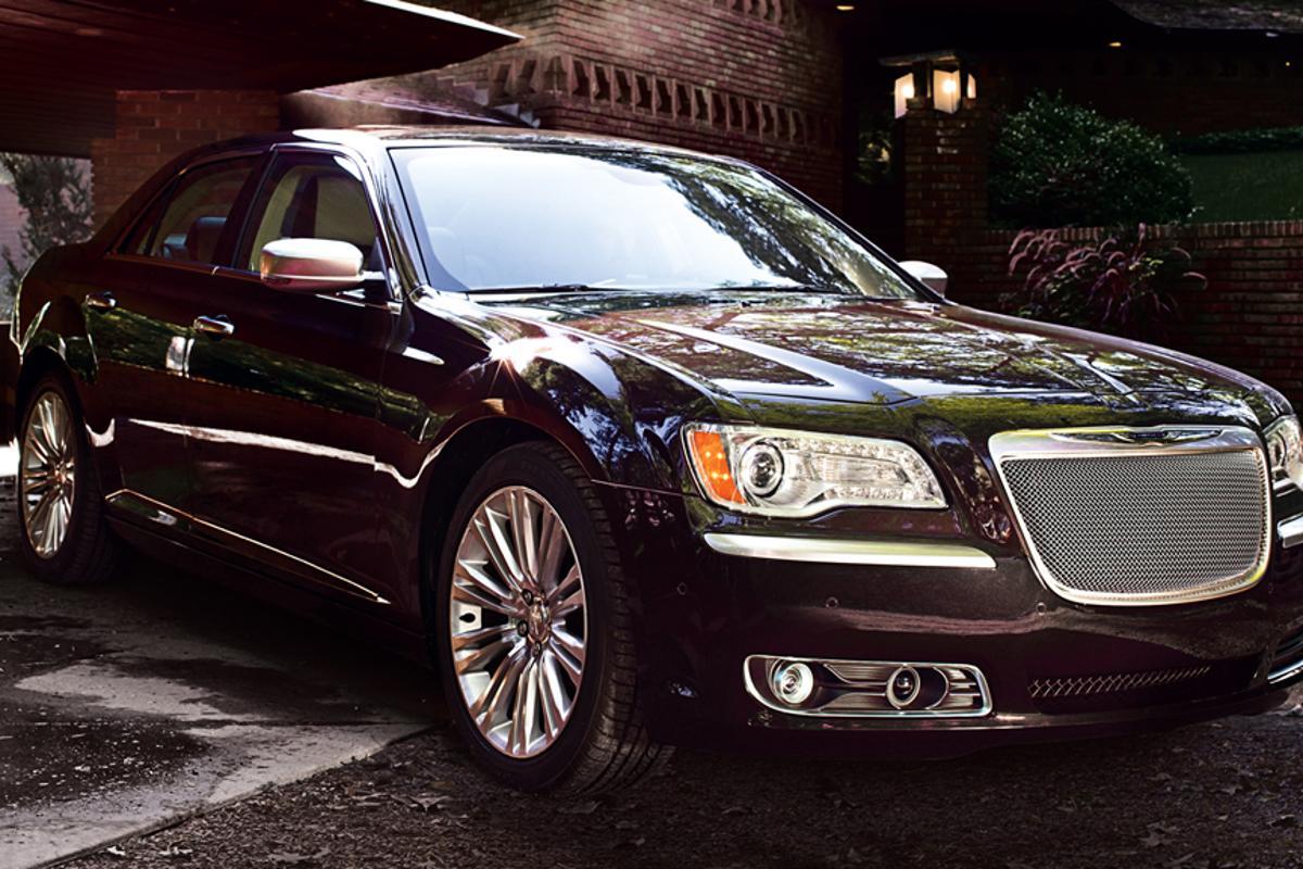 The new eight-speed Chrysler 300 Luxury Series sedan