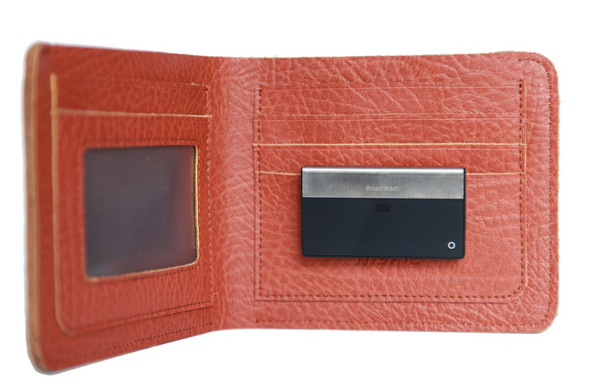 The SmartWallit slips inside your wallet