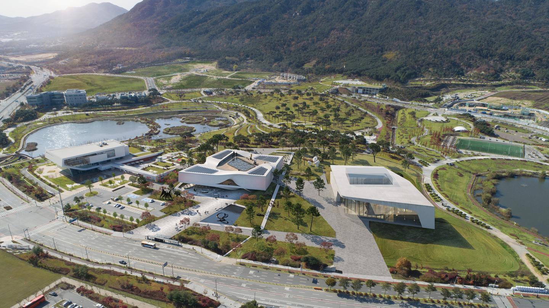 The Chungnam Art Museum will be located in Chungnam, South Korea