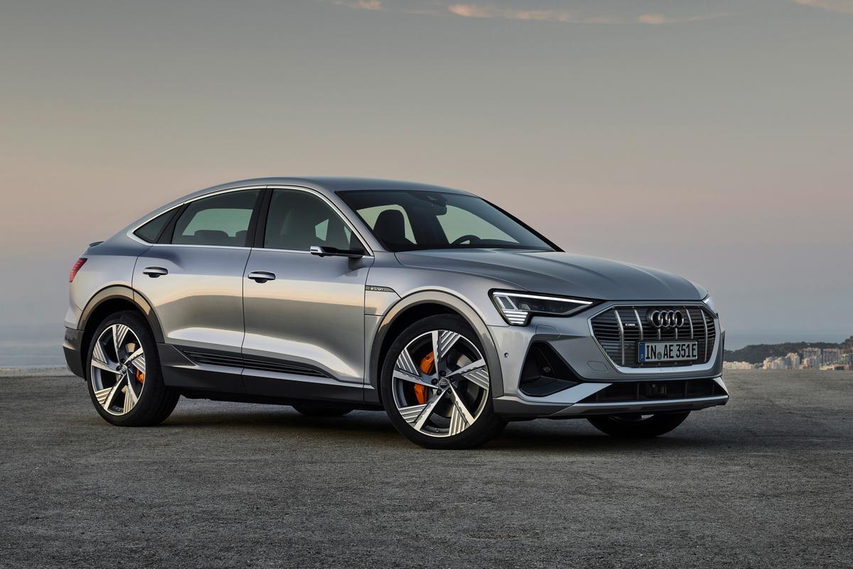 The e-tron Sportback 55 quattro: a sexier, more efficient Audi electric