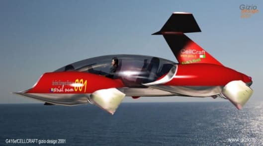 Gizio's G416ef flying car concept