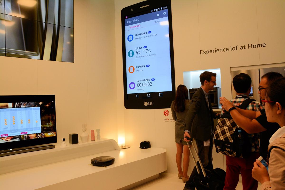 LG reveals its vision for the Internet of Things at IFA 2015