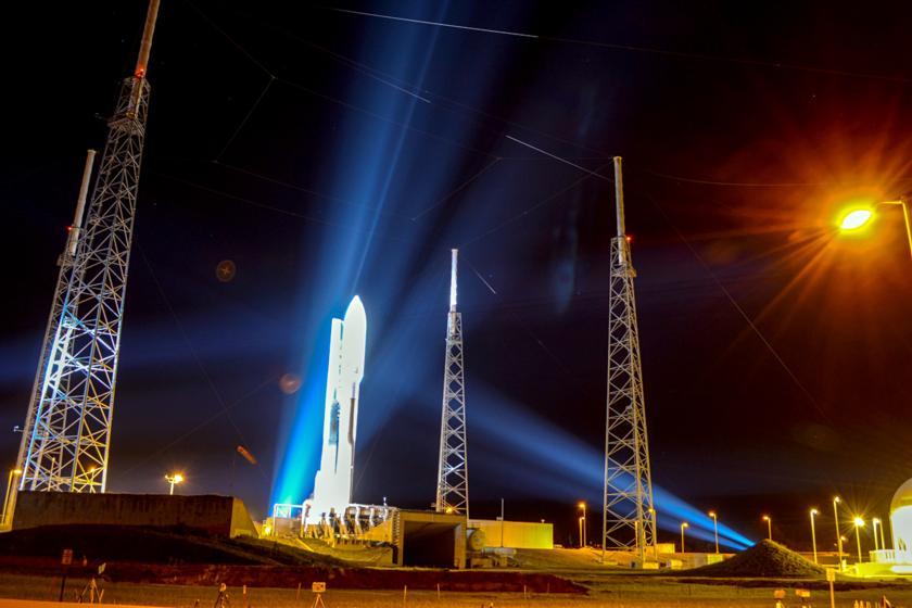 Atlas V launcher carrying the LightSail satellite