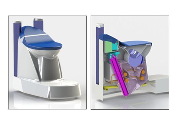 Nano Membrane toilet design
