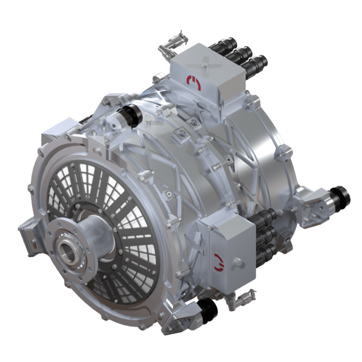 MagniX's 750-hp electric motor turns its first propellor at