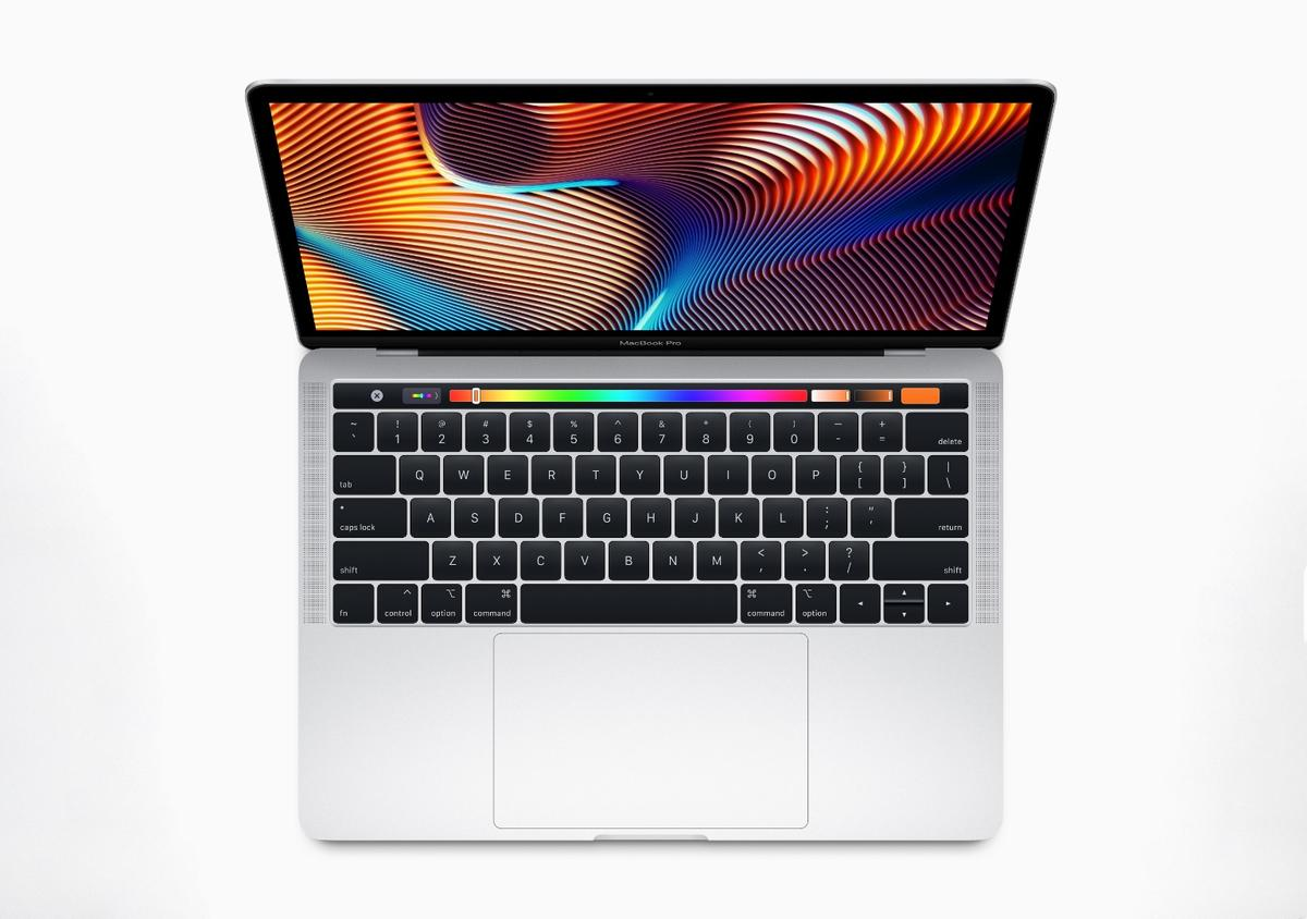 Updated 13-inch MacBook Pro now features the latest processors for twice the performance, Touch Bar and Touch ID, and a True Tone Retina display