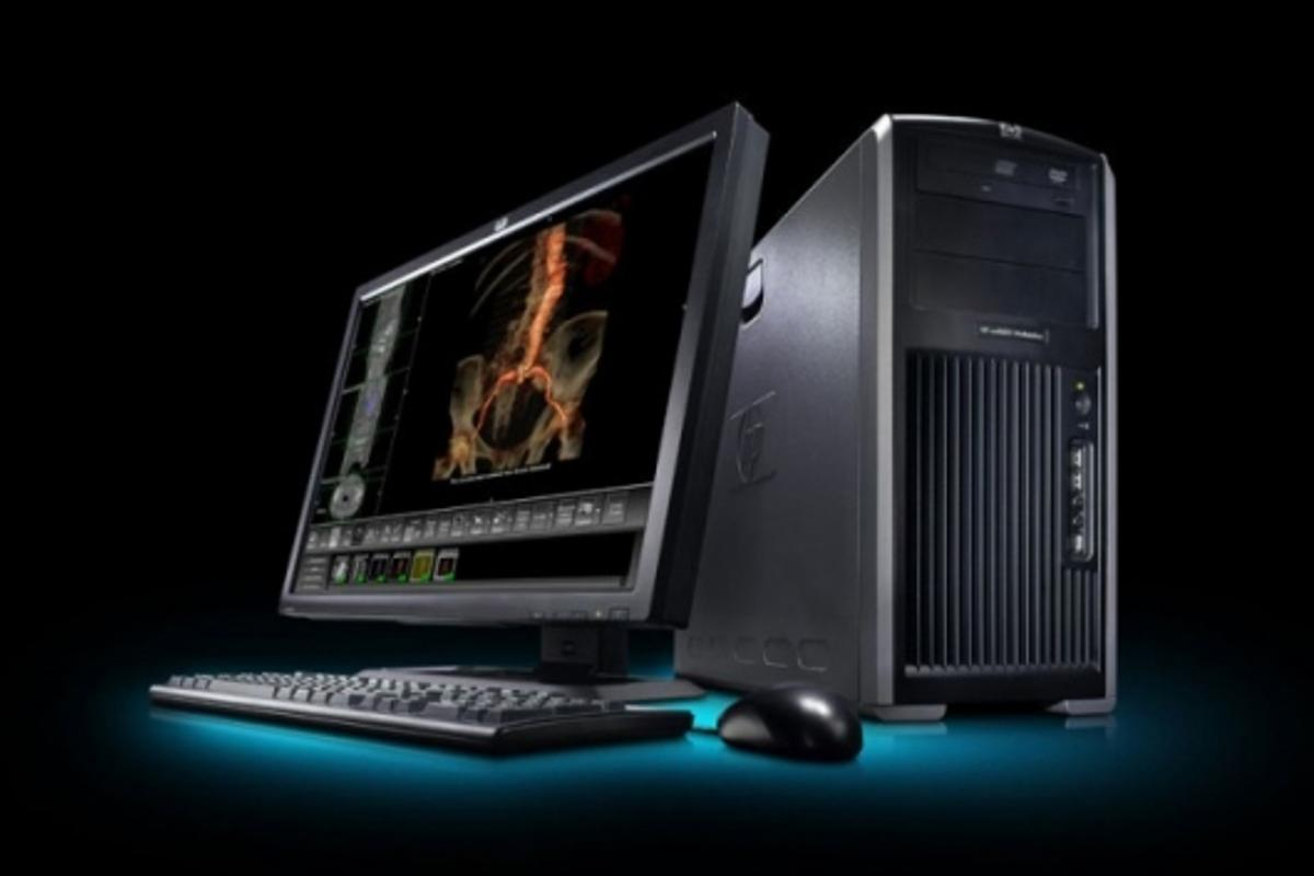 HP and Dreamworks develop new display technology (note: the pictured HP workstation is not the new display - we'll bring you images as soon as they become available)