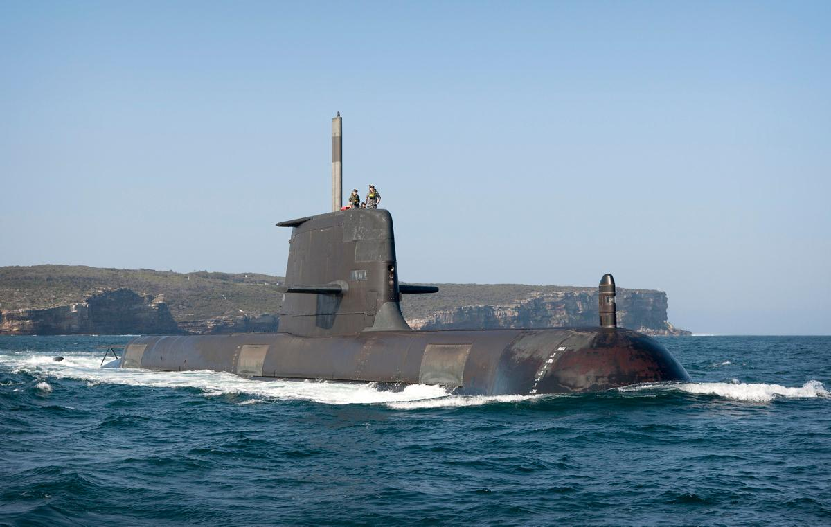"""Cold spray"" printing technology will be used to maintain Australia's fleet of Collins Class submarines"