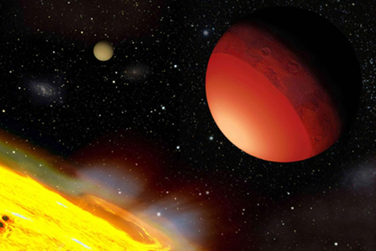 Scientists destroy simulated Earths to better understand exoplanets, such as Earth-like planets like CoRoT-7b seen here (Image: A. Leger et al./Icarus)