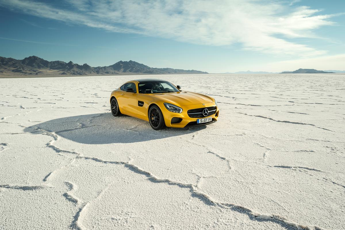 The AMG GT is Mercedes latest take on the supercar game