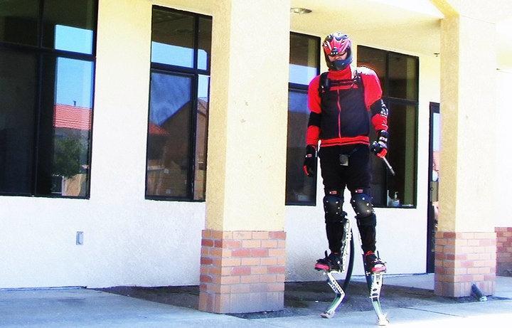 Monterey, California's Mega-Rad, and his kangaroo-leg-like powerbocks