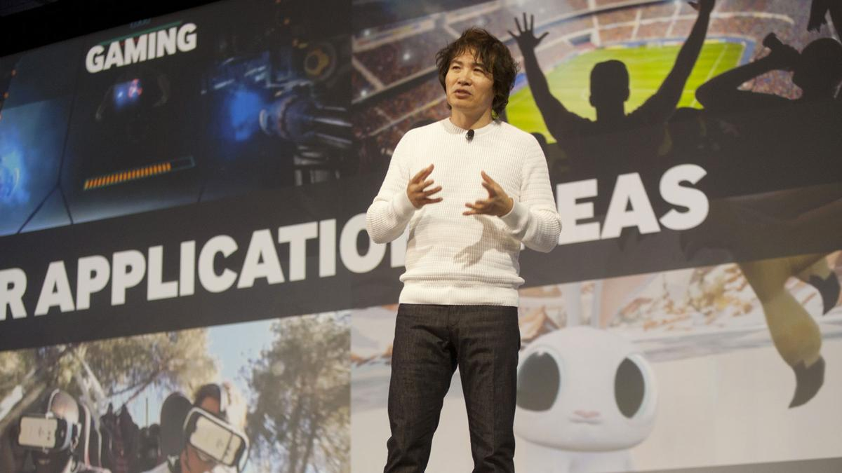 Injong Rhee, head of R&D at Samsung (shown here at the2016 Developer Conference) says that the new Bixby virtual assistant is more capable than its competitors