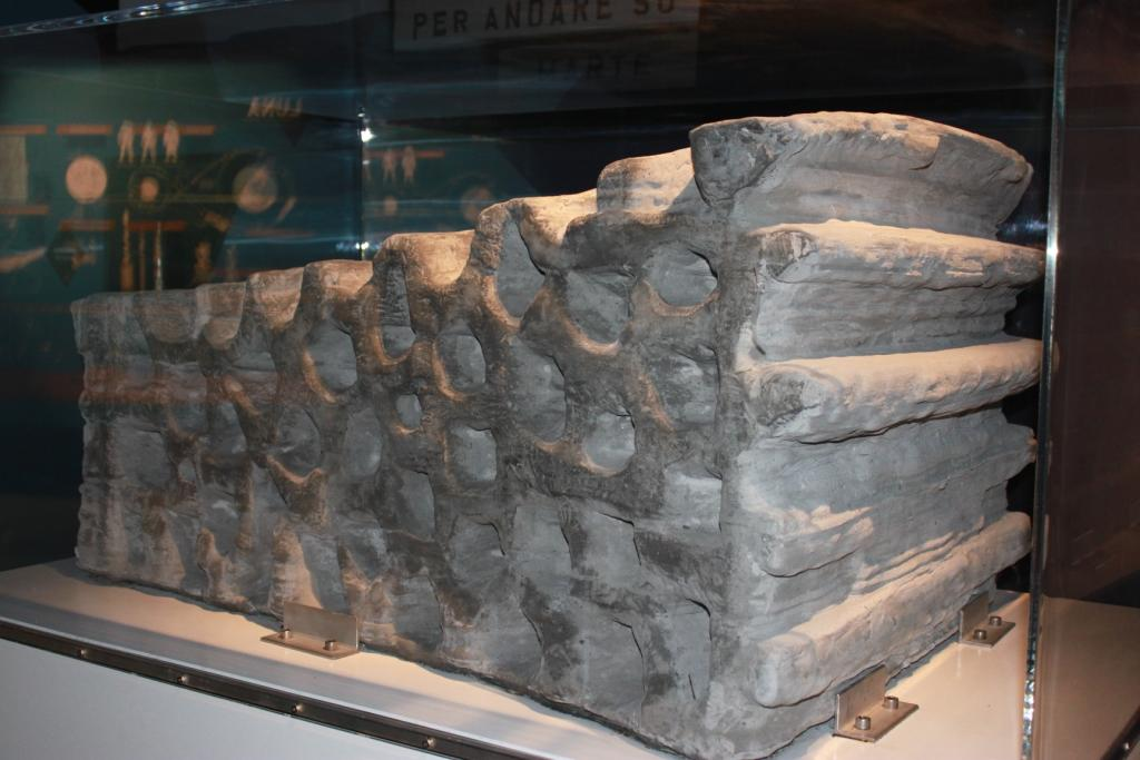 As part of the ESA-led study a 1.5 tonne building block was fabricated out of simulated lunar soil (Photo: ESA)