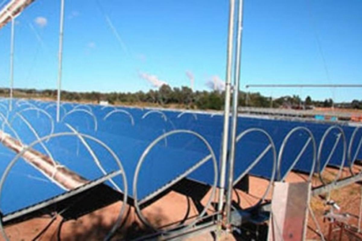Ausra's compact linear Fresnel (CLFR) technology