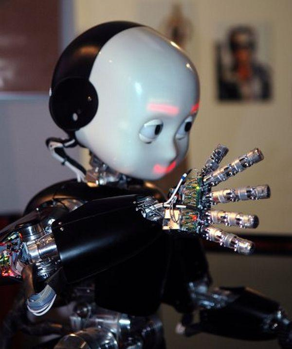 Scientists have nominated the iCub child-like humanoid robot to participate in the Olympic Torch Relay for the London's 2012 Summer Olympics