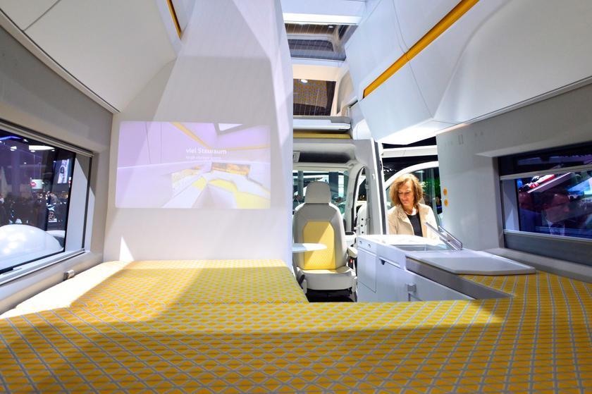 In Photos Camper Vans Pop Up At The 2017 Frankfurt Motor Show