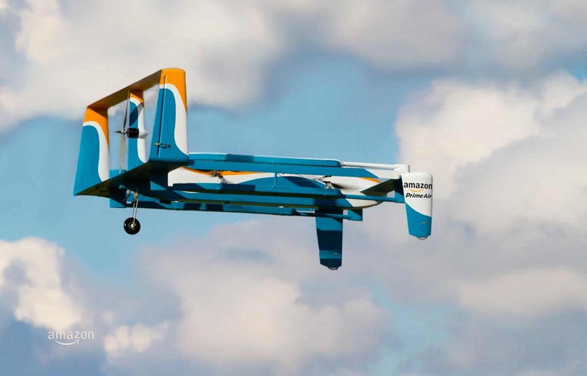 While the Federal Aviation Administration continues to ponder the safe integration of drones into US airspace, Amazon is doing much the same