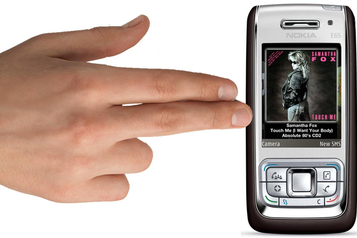 TouchDevice brings touchscreen capabilities to older mobile phones