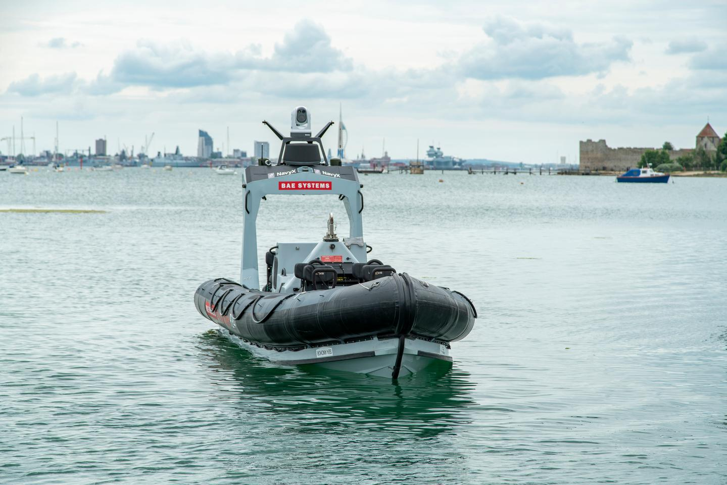 P24 Unmanned is based on the standard P24 RIB