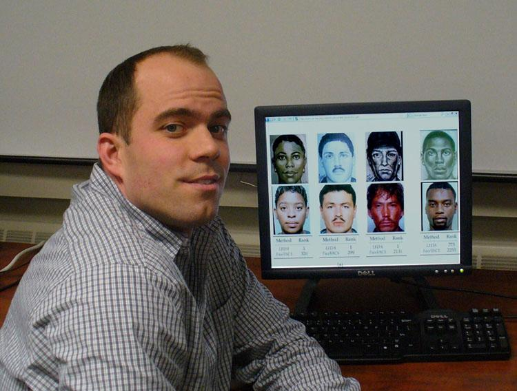 MSU doctoral student Brendan Klare is one of the leaders of the project (Photo: MSU)