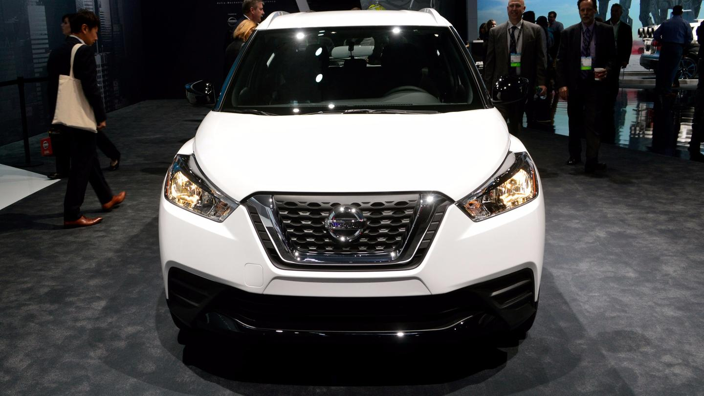 Nissan reveals its latest crossover, the compact Kicks