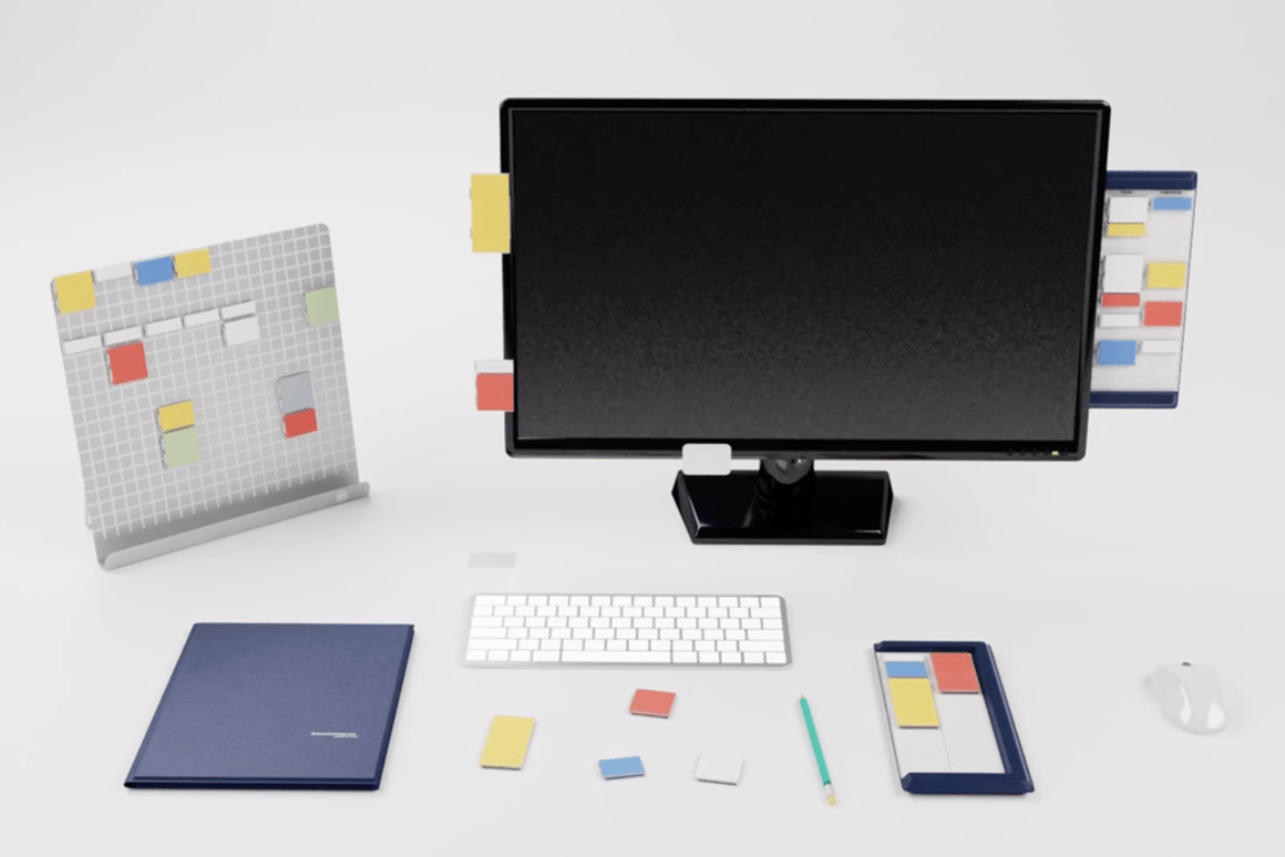 Mover is the World's first movable tool for thinking and organizing