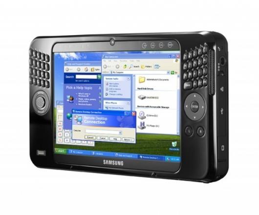 Samsung's Q1UP-V UMPC