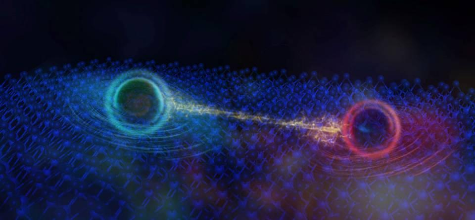A new type of quantum particle called a neutral fermion may have been discovered in an insulating material