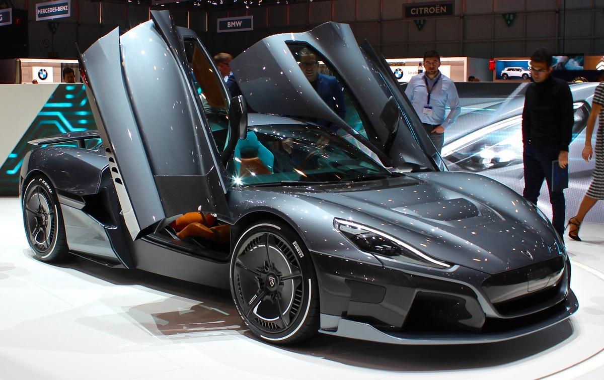 Rimac C_Two makes its world premiere at the Geneva Motor Show