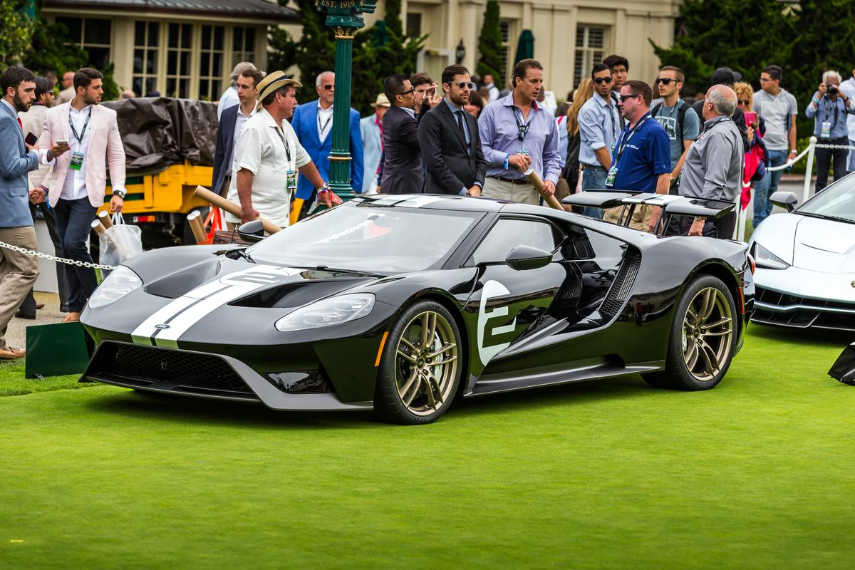 The Ford GT will be built in very limited numbers, and owners had to apply to buy one