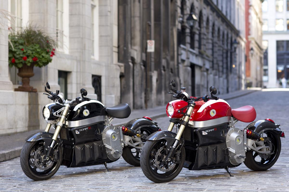 Lito is set to show the Sora in a World premiere at the Montreal Motorcycle show later this month (Photo: LITO Green Motion)